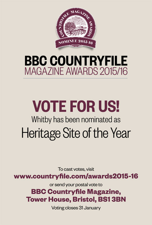 VOTE NOW: Whitby Shortlisted in BBC Countryfile Magazine Awards 2015-16