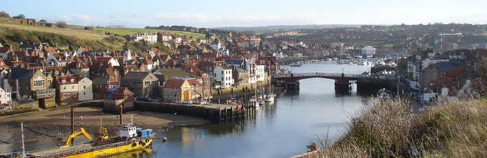 Whitby Town, Harbour and Swing Bridge