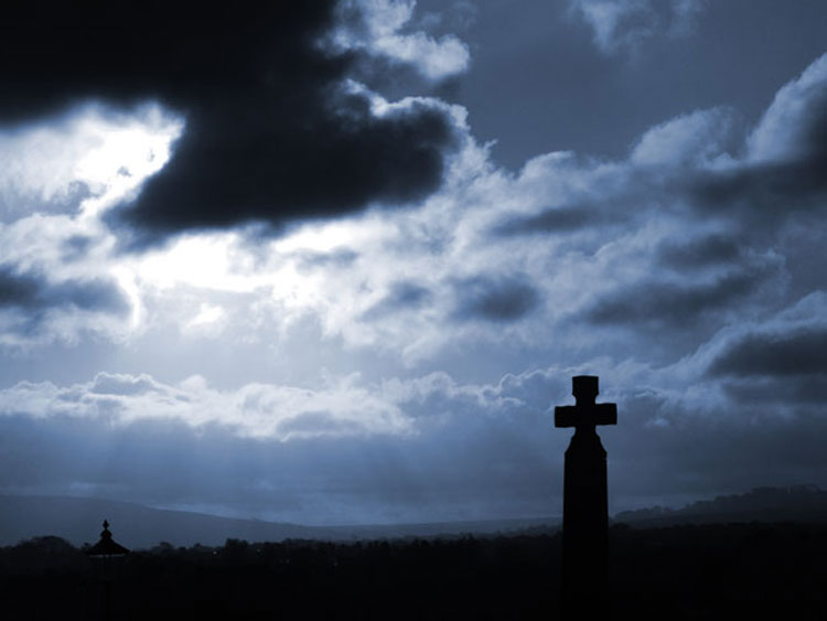 Whitby is the perfect setting for a Goth experience. Taken by Chris Jones