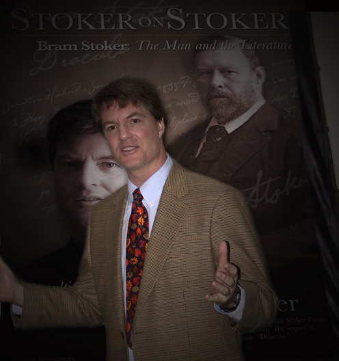 Dacre Stoker, 'Stoker on Stoker' presentation in Whitby