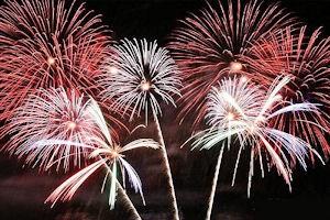 Regatta fireworks