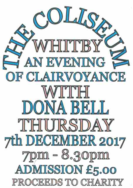 Clairvoyancy Evening at the Coliseum Centre