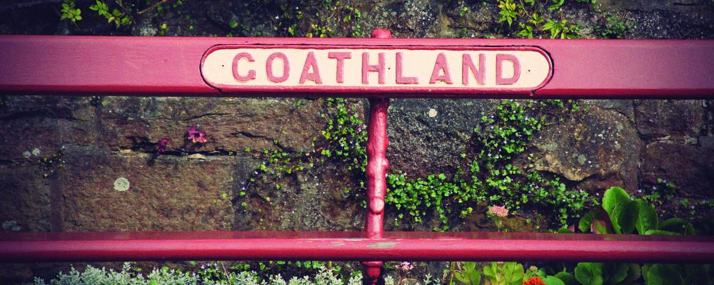 Goathland Station bench