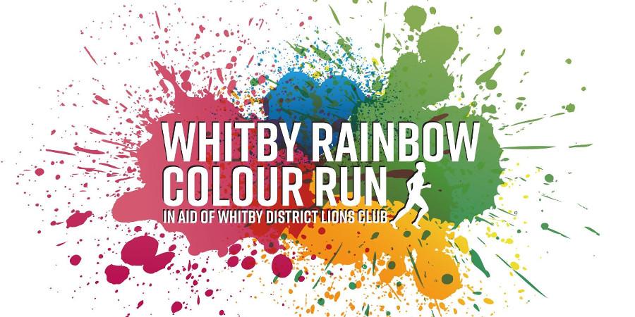 Whitby colour run
