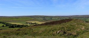 image of the Yorkshire moors