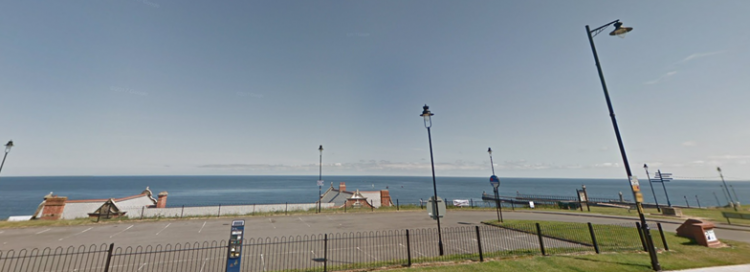 empty spaces for parking in Whitby town centre