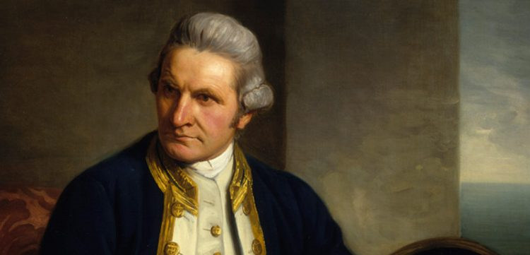 Portrait of Captain Cook