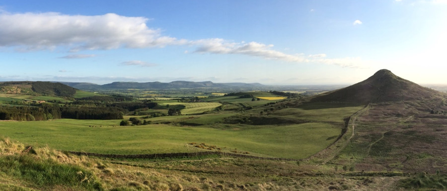 Roseberry Topping panorama Chris Wood National Trust