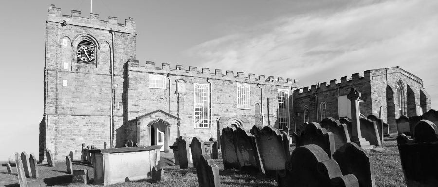 St Mary's Church where you can see whitby ghosts
