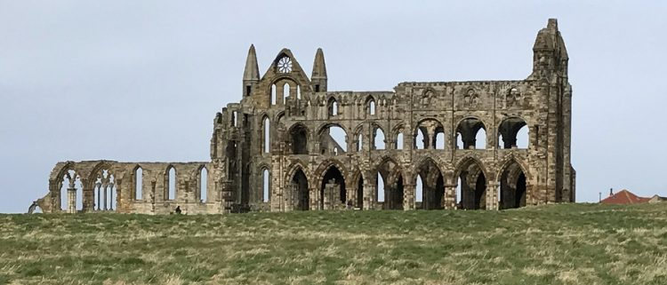 Abbey standing where the Synod of Whitby took place