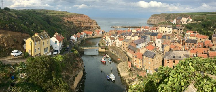 Visit Staithes - picture overlooking the village