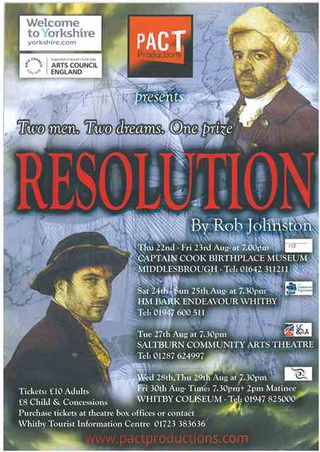 Resolution : Two men. Two dreams. One Prize