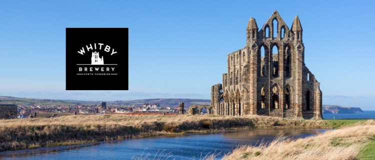 Whitby Abbey and Whitby Brewery logo