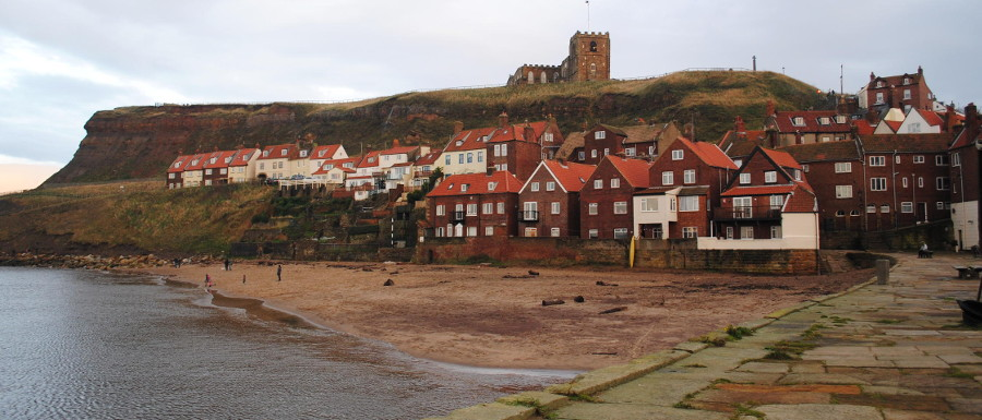 Tate Hill Sands in Whitby