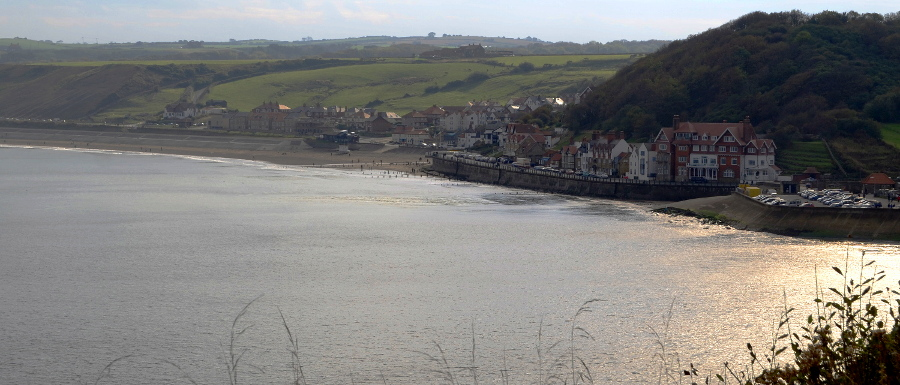 View over Sandsend