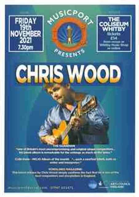 Musicport presents Chris Wood