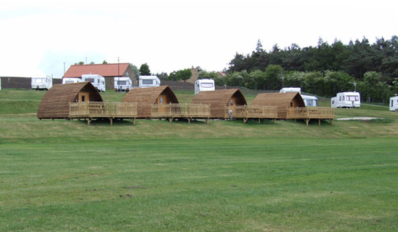 Wigwams at Grouse Hill Caravan Park