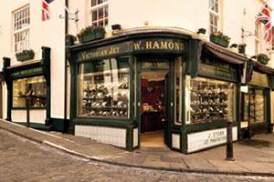 W Hamond - Original Whitby Jet Shop, Whitby