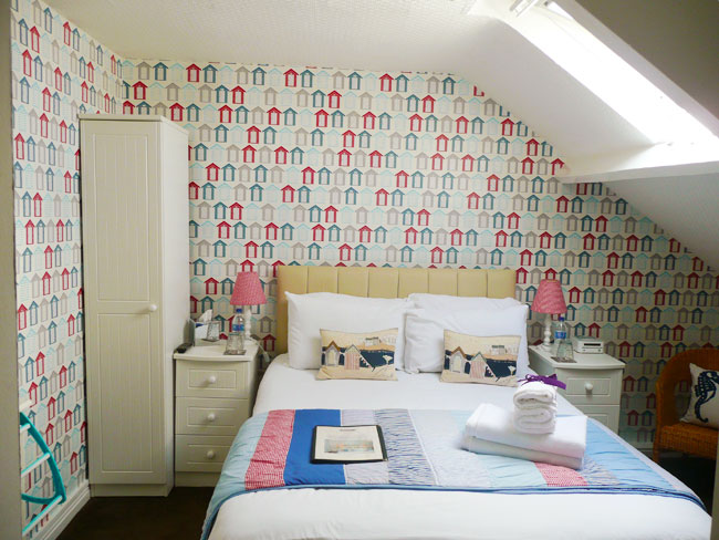 Double bedroom at The Leeway, Whitby