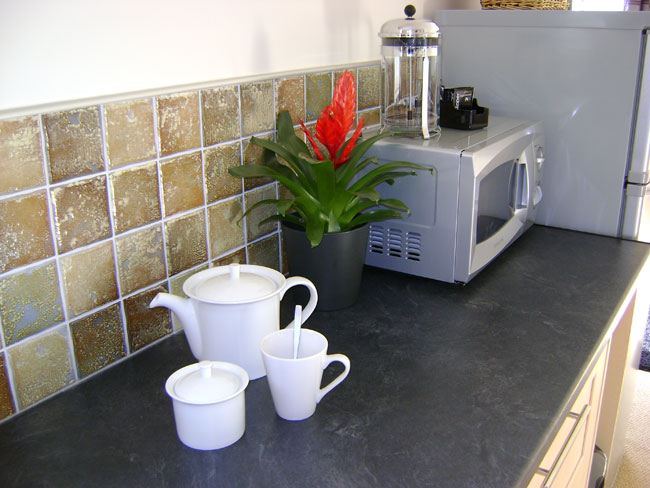 The superb kitchen facilities at Lemon Cottage will really make you feel at home