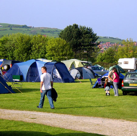 A beautiful campsite providing tent pitches in gorgeous surroundings, many with electric hook ups.