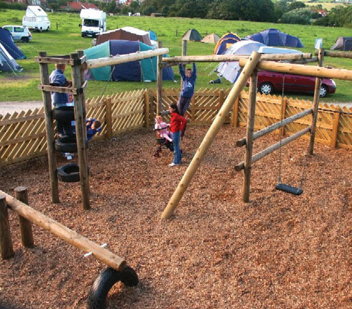 Lovely Children's Adventure Play Area, Middlewood Farm Park, Robin Hood's Bay