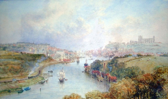 Whitby Museum Painting by Weatherill