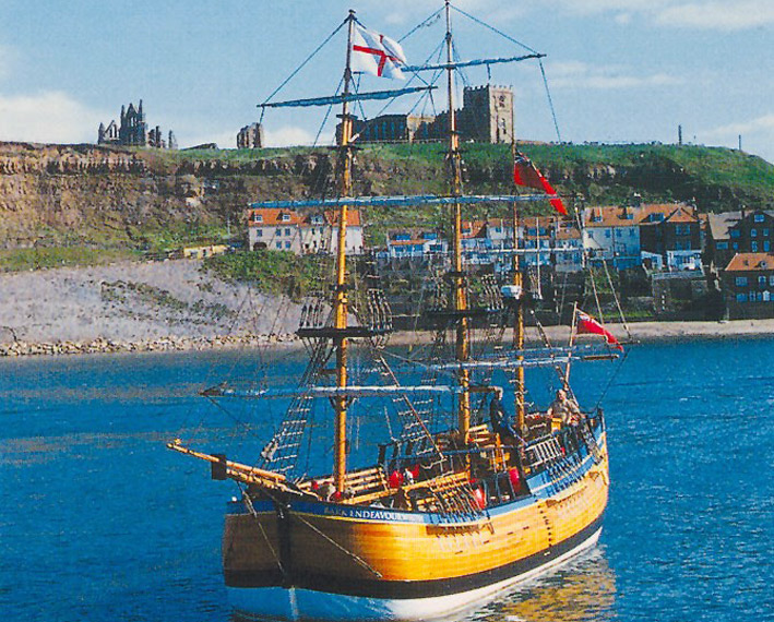 Bark Endeavour (Captain Cook Experience), Whitby