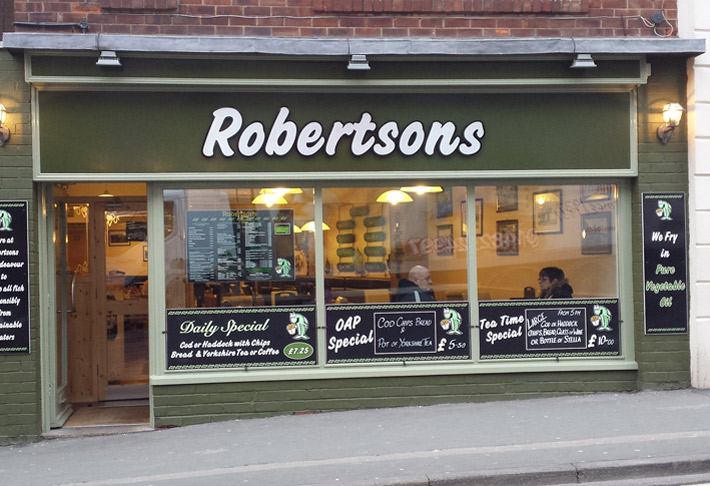 Robertson's Fish Restaurant & Takeaway, Whitby