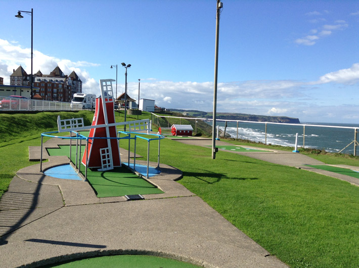 Arnold Palmer Putting Course, Whitby