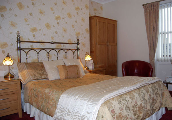 A superior double bedroom at Bramblewick Guesthouse, Whitby
