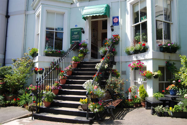 The delightful exterior of Bramblewick Guesthouse, Whitby