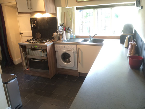 The delightful fully fitted kitchen at The Green, Glaisdale