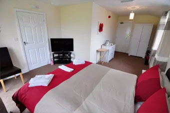 A delightful double bedroom at The Wheeldale, Whitby
