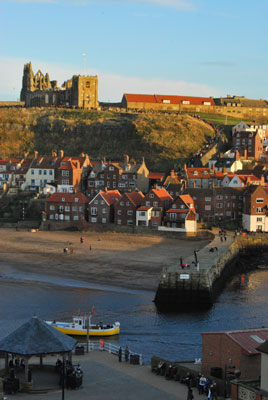A view of the East Side from The Birdhouse Bed & Breakfast, Whitby