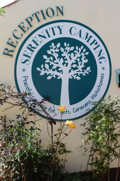A warm welcome is assured at Serenity Camping and Touring Park