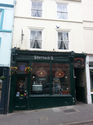 Sherlock's Coffee Shop - Exterior