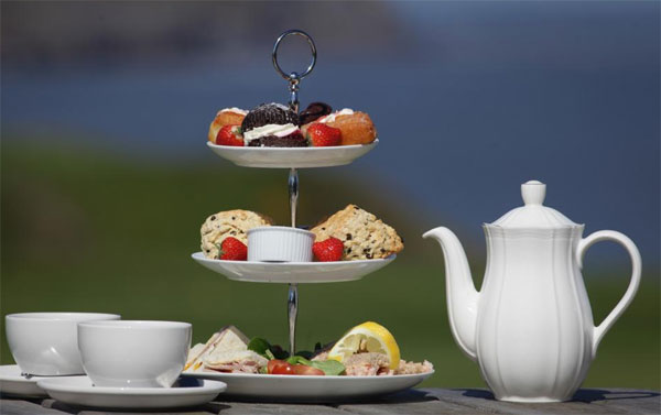 Afternoon Tea at the White House Bar, Restaurant and Rooms, Whitby
