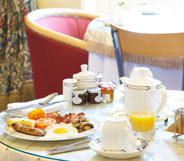 Enjoy a heart breakfast at The Haven, Whitby