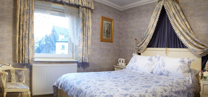A delightful double bedroom at The Haven Guest House, Whitby