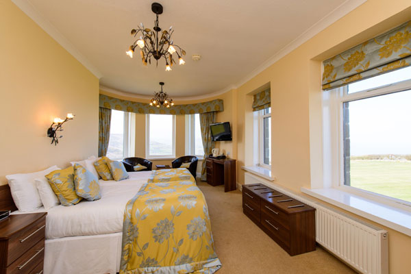 Raven Hall Country House Hotel lovely double bedroom