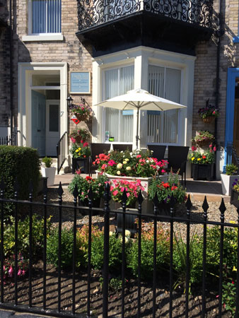 The lovely exterior of High Tor Guest House, Whitby