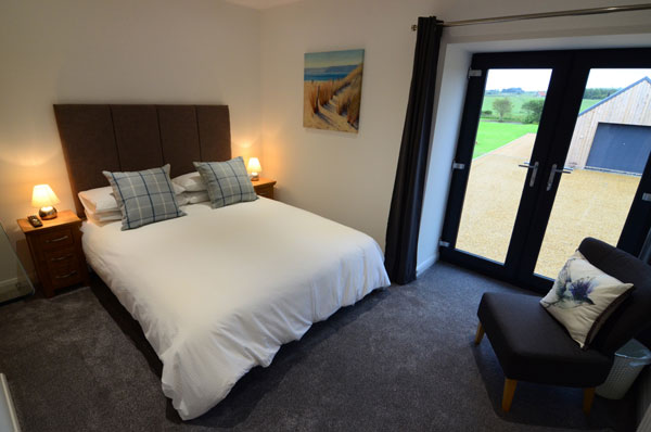 The delightful double bedroom at Cottage 1, Granary Cottages, Whitby