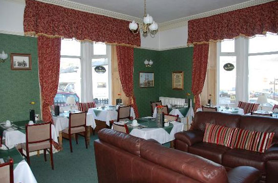 Enjoy a lovely cooked brakfast in the dining room at Kimberley House in Whitby
