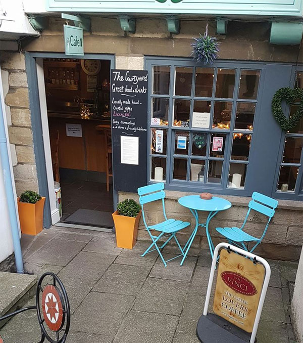 The Courtyard Cafe, Whitby