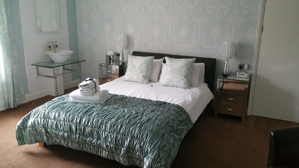 A light and airy double bedroom at The Leeway, Whitby
