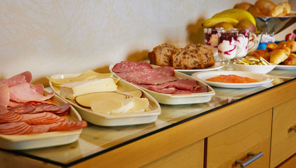 Enjoy a hearty breakfast at The Haven, Whitby