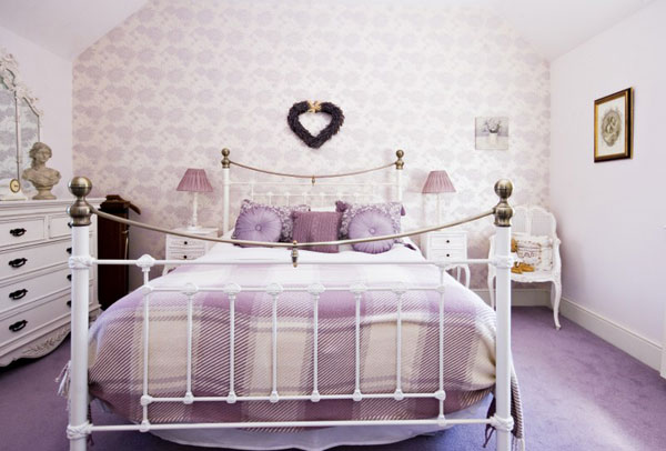 The light & airy bedroom at The Retreat, Gorgeous Cottages, Whitby