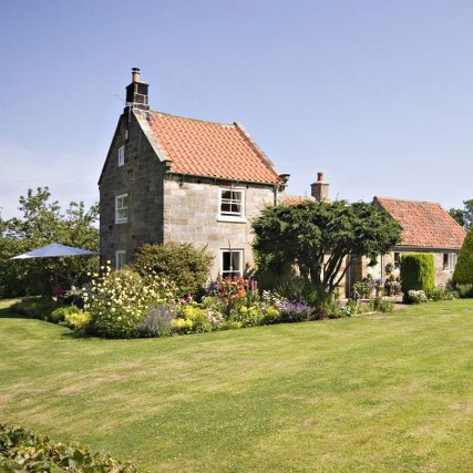 The beautiful exterior of The Retreat, Gorgeous Cottages, Whitby