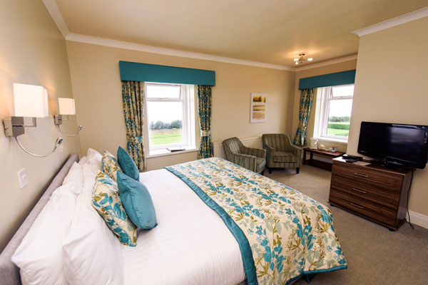 Light & airy double bedroom at Raven Hall Country House Hotel, Whitby